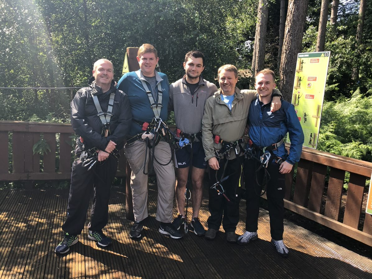 igroup Go Ape in Delamere Forest