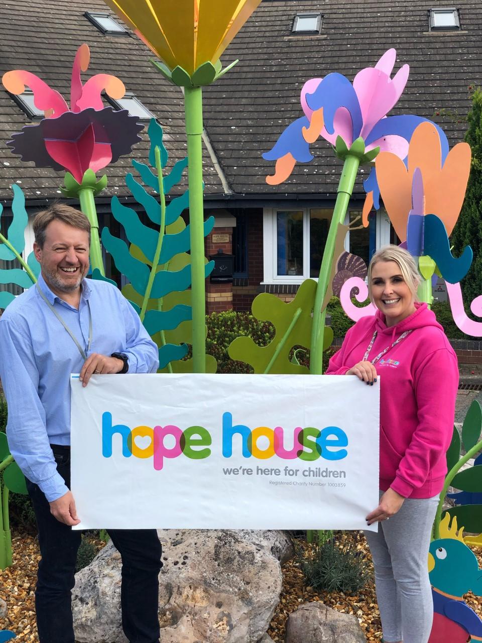 igroup Supports Hope House
