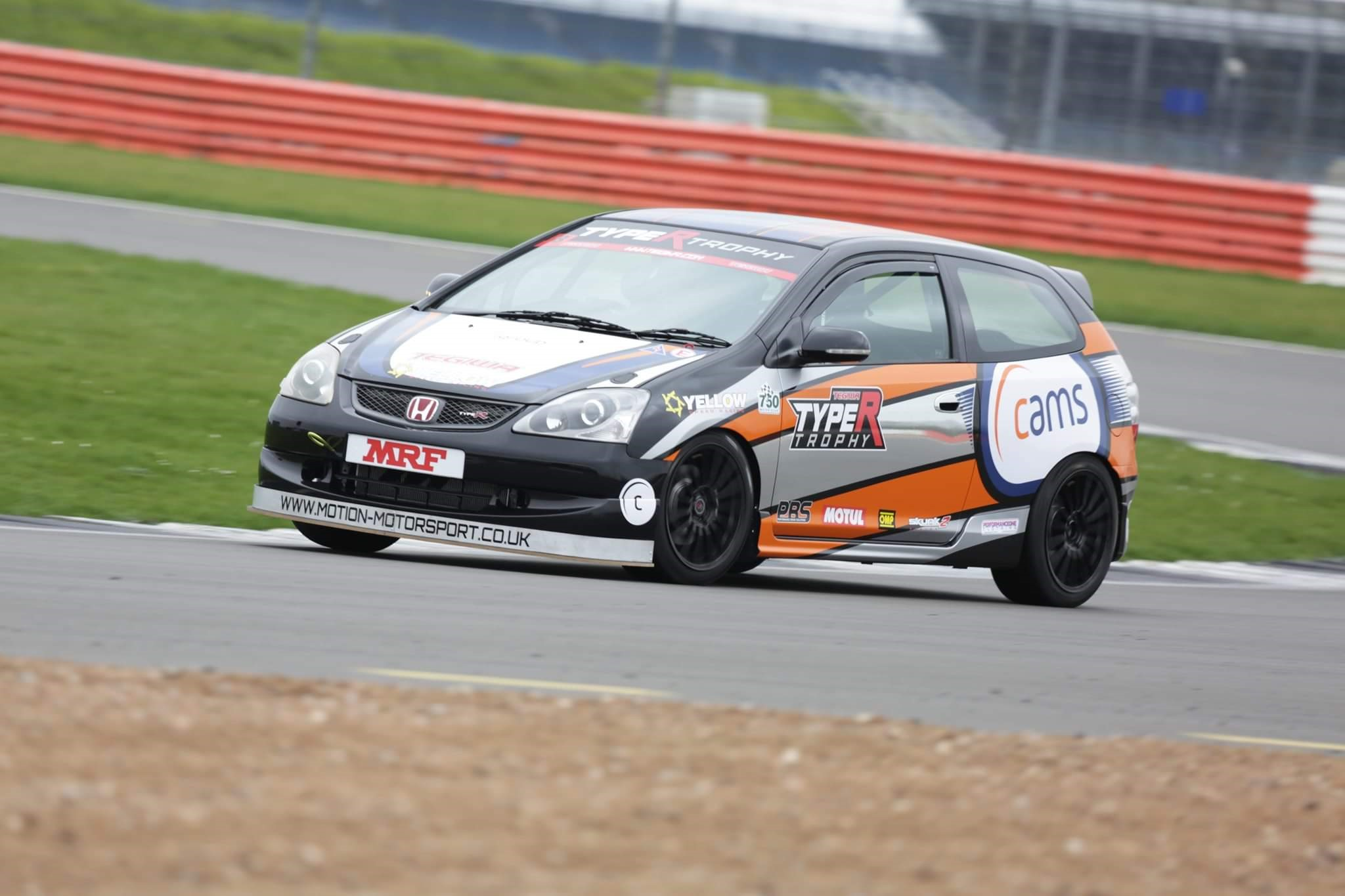 igroup's Up and Coming Driver Jack Leese in the Honda Civic Trophy