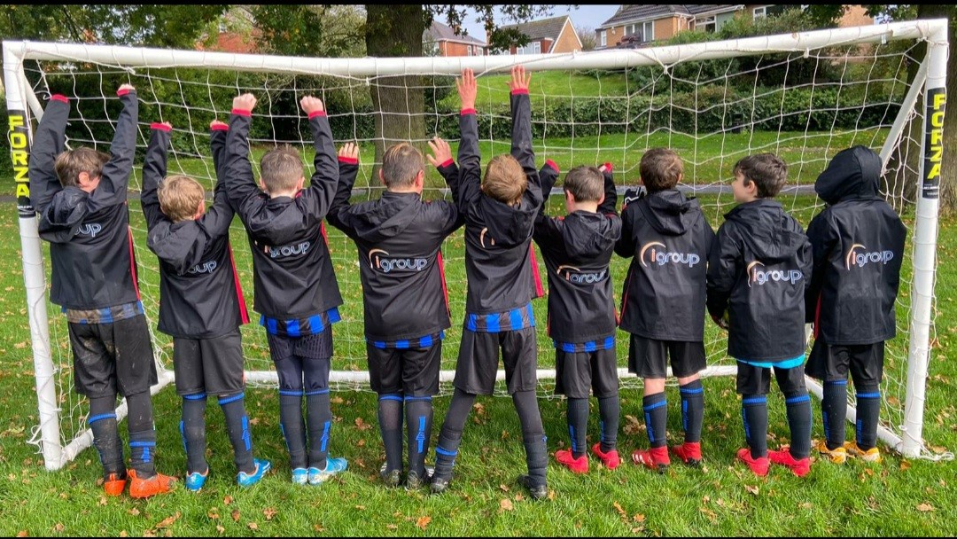 igroup Supports Grassroots Football